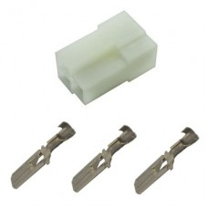3 way Male Blade Connector - NEW