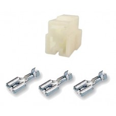 3 way Female blade connector