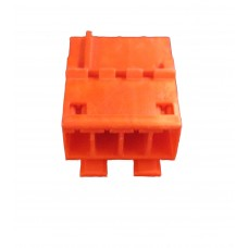 4 Way Female Blade Connector & Contacts (RAST 5) - RED
