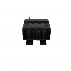 4 Way Female Blade Connector & Contacts (RAST 5) - BLACK