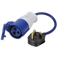 EHU to UK main hook up plug adaptor