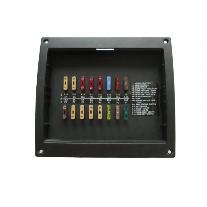 Buy A Brand New Nord Elettronica Ne189 Fuse Board And