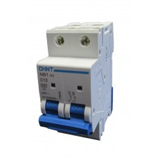 10A MCB - Double Pole Circuit Breaker