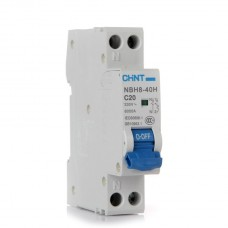 10A MCB - Single Pole and Neutral (1P+N) Circuit Breaker