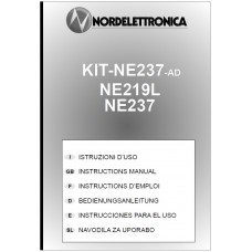 Nord Electtonica KIT-NE237-AD/NE219L/NE237 User Instructions