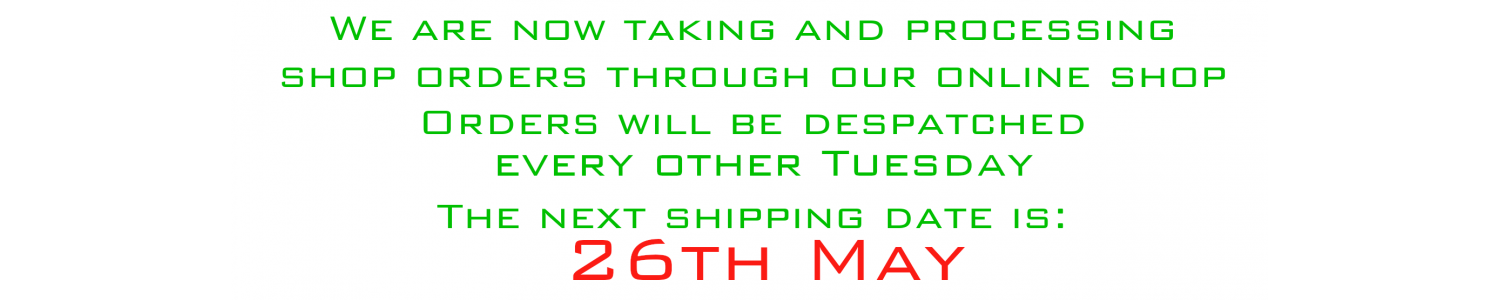COVID shipping date
