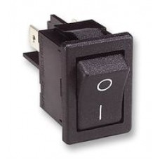 2 position on-off non illuminated rocker switch with I/O marking